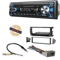 Power Acoustik 1-DIN with 32GB USB/SD/AUX/Bluetooth +Radio S