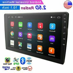 """10.1"""" Android 8.1 Car Stereo Radio GPS Double 2Din Wifi Mirr"""