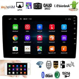 "10.1"" Android 9.1 Car Stereo Radio GPS Double 2Din Wifi OBD2"