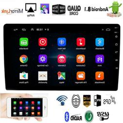 """10.1"""" Android 8.1 Car Stereo Radio GPS Double 2Din Wifi OBD2"""