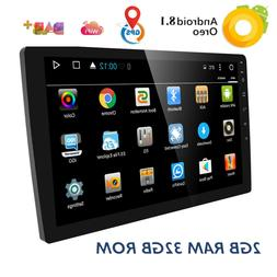 """10.1"""" Android 8.1 Oreo Double 2Din InDash Car GPS Navigation"""