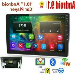 "10.1"" Android 9.1 Car Stereo Radio GPS Double 2Din Wifi Mirr"