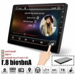 10.1 Car GPS Android8.1 Stereo Radio Double 2DIN Player Wifi