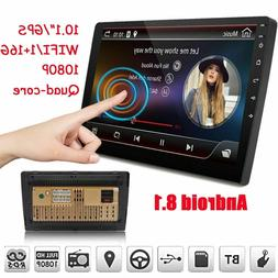 """10.1"""" Double 2 DIN Car Stereo Radio Android 8.1 GPS Navi WiF"""