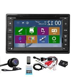 6.2 inch 2 din GPS Navigation Player Autoradio LCD Touch Scr