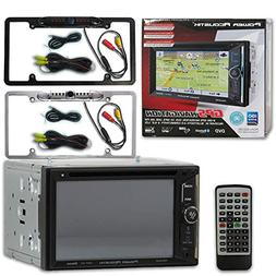 "Power Acoustik 2-DIN PDN-623B 6.2"" Navigation Car Stereo MP3"