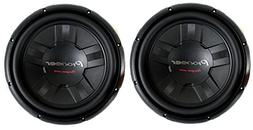 2) Pioneer 12 Inch 2800W Subwoofers Car Audio 4-Ohm DVC Subs