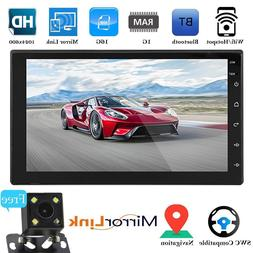 2019 7'' Double 2Din Android 8.1 Car DAB+ Radio Stereo Quad