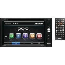 """NEW SOUNDSTORM 6.2""""Double-DIN In-Dash Touchscreen DVD/CD/USB"""