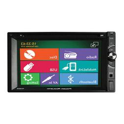 "Power Acoustik 6.2"" Double Din Receiver Bluetooth HDMI"
