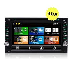 6.2'' Double DIN Touchscreen in Dash Bluetooth Car Stereo 10