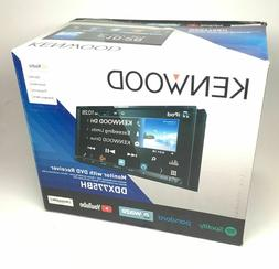 "Kenwood 6.95"" WVGA Double-DIN Multimedia Unit DDX775BH"