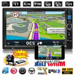 7 0 double 2din touch screen car