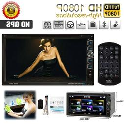 "7"" Double 2Din Car CD DVD MP5 Player In Dash Bluetooth Radio"