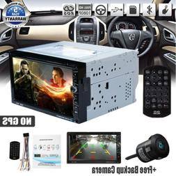 """7""""Double 2Din Car DVD CD Player Bluetooth+ Radio Stereo+ Bac"""