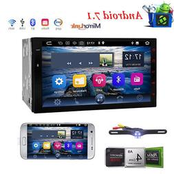 "7"" Android 7.1 Car Stereo with Double Din Fast-boot GPS Sat"