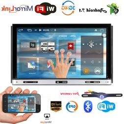 """7"""" ANDROID 7.1 OREO DVD QUAD CORE 1024*600 DOUBLE 2 DIN TABL"""