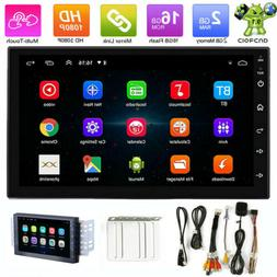 """7"""" Android 9.1 Double 2DIN Car Stereo Radio GPS Navigation W"""