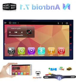 """7"""" Android Double Din Car MP5 Player Stereo With GPS Navigat"""