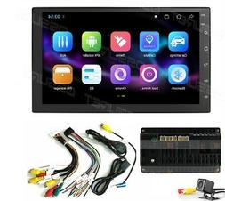 "7""Backup Camera+GPS Double Din Car Stereo Radio No DVD Playe"