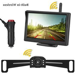7'' Double 2 DIN 1080P HD Car Radio Video Stereo GPS Mirror