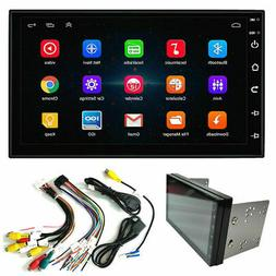 "7"" Android 9.1 Double 2Din Car Stereo Radio GPS Wifi OBD2 Mi"
