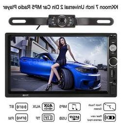 """7 """" Double 2 Din Touch Screen Car Stereo Radio MP5 Player BT"""