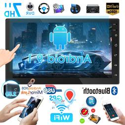7 double 2din car radio android 9