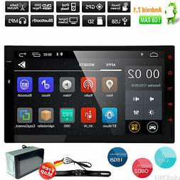 "7"" Double 2Din Car Stereo mp3 Player GPS Navigation Bluetoot"