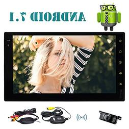 EinCar 7'' Double Din Car Stereo with Android 7.1 Octa Core