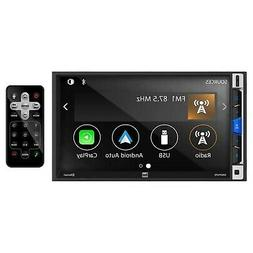 Dual Electronics 7-Inch Double-DIN in-Dash Mechless Receiver