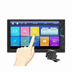 7 Inch Universal Double Din in Dash Stereo Car Receiver Audi