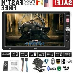 """7"""" SWM X4 Double 2 DIN Car MP5 /MP3 Player Touch Screen Ster"""