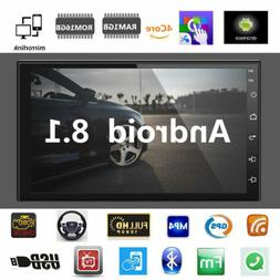 7inch Android 8.1 Car Stereo GPS Navigation Radio Player Dou