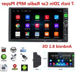 7inch Android 8.1 Double 2Din Car Stereo Radio GPS Wifi OBD
