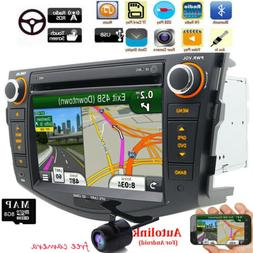 "8""Double 2Din GPS Navigation Stereo Car DVD Player for TOYOT"