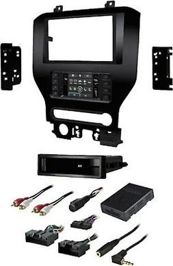 "Metra 99-5840CH Ford HVAC Kit 2015-up Mustang w/8"" LCD, I/DD"