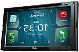 JVC KW-V640BT Bluetooth Waze SiriusXM Ready In-Dash DVD CD N