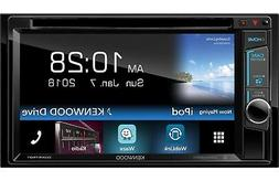 "Kenwood 2-DIN 6.2"" Touchscreen Car Stereo DVD Player Receive"