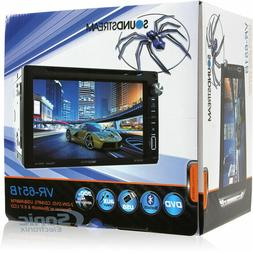 "NEW Soundstream Double Din VR-651B DVD/CD/MP3 Player 6.5"" LC"
