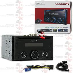 PIONEER DOUBLE DIN 2DIN MP3 CD BLUETOOTH CAR STEREO WORKS WI