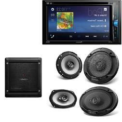 "Pioneer 2Din DVD/MP3/CD Player 6.2"" screen Dash Kit Kenwood"