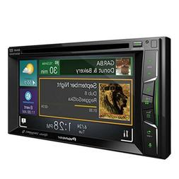"Pioneer AVH-1400NEX Double 2 DIN In-Dash Car DVD 6.2"" Touchs"