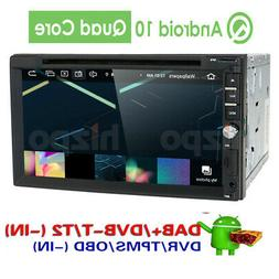 """Android 10 Car stereo GPS with CD DVD player 7"""" Tablet Doubl"""