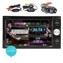 EinCar Android 5.1 Double Din In Dash Vehicle GPS Car Radio