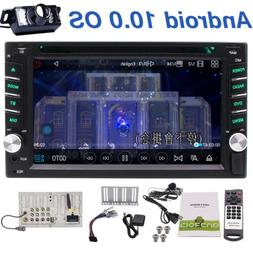 Android 10.0 Double 2Din Car Radio Stereo DVD Player GPS Nav
