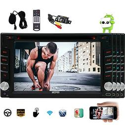 Android 6.0 Marshmallow Car Stereo Double 2 Din 6.2 Inch Cap
