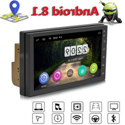 Android 8.1 Double 2Din 7in HD Car GPS Navi Auto Radio Stere