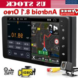 Android 8.1 Oreo Double 2Din InDash Car GPS Navigation Stere