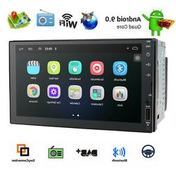Android 9.1 Double 2 DIN Car Stereo Player 7'' 1GB RAM FM Ra